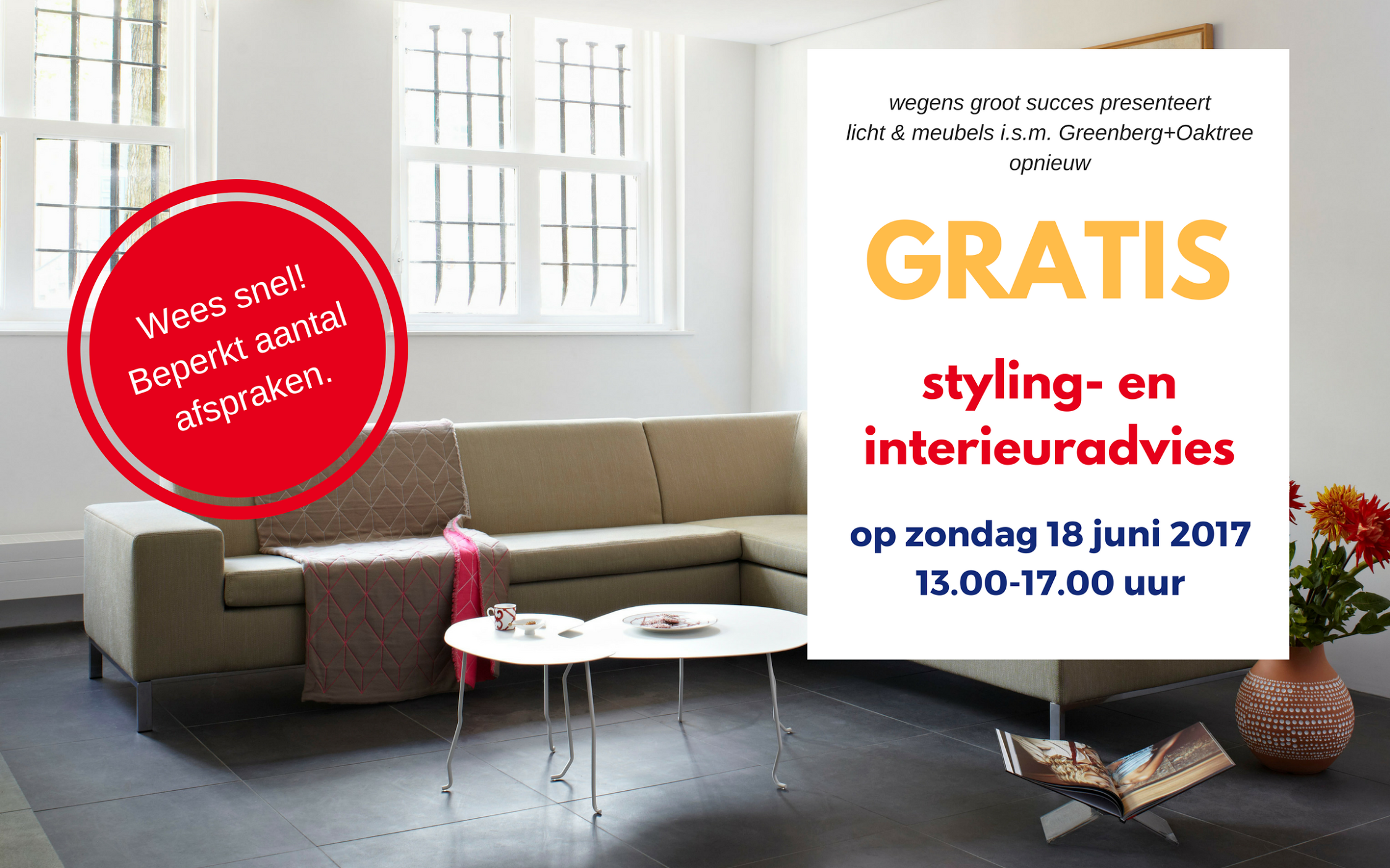 Gratis styling- en interieuradvies