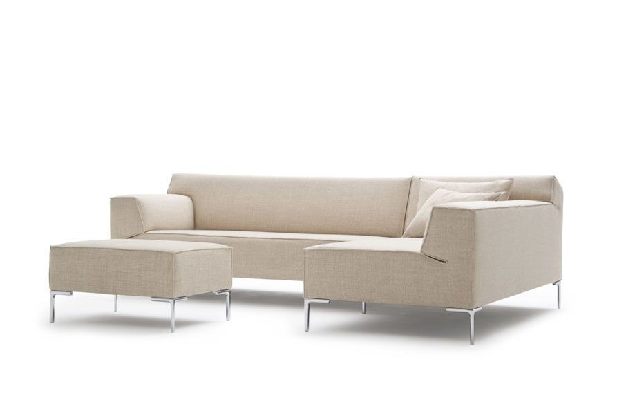 Design Bank Met Chaise Longue.Design On Stock Bloq Bank 1 Arm Chaise Longue Acties Licht