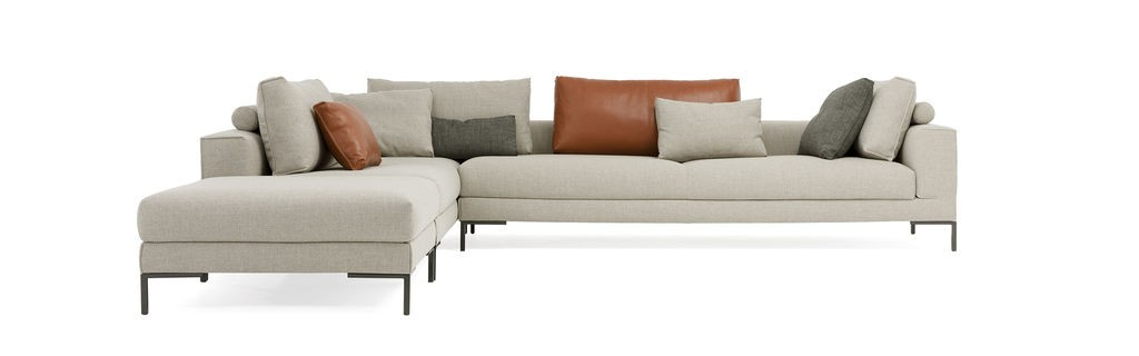 DESIGN ON STOCK AIKON LOUNGE BANK - HOEKOPSTELLING 1