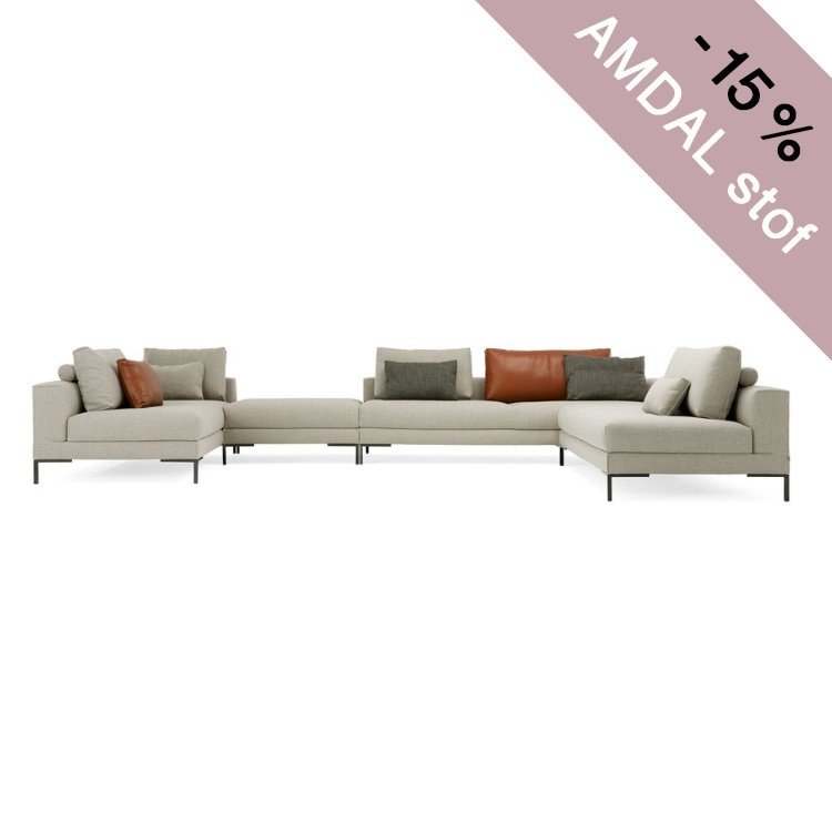 DESIGN ON STOCK AIKON LOUNGE BANK - HOEKOPSTELLING 3