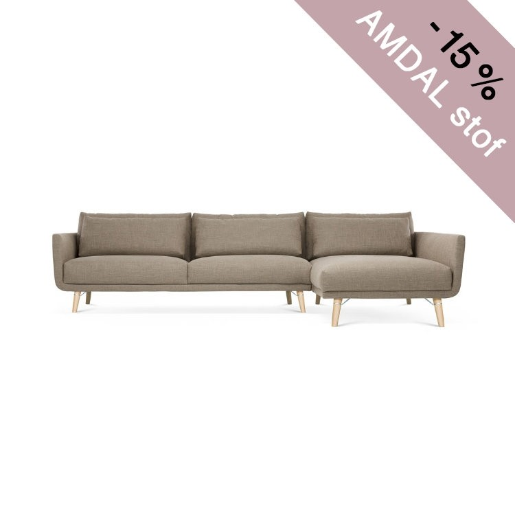 BYEN LOUNGE 1 ARM & CHAISE LONGUE