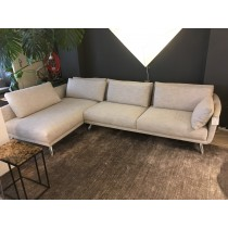 byen hoekbank chaise longue, showroom