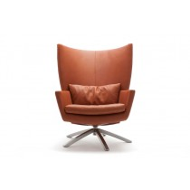 MAUA FAUTEUIL, licht en meubels, design on stock, leer