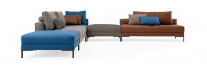 DESIGN ON STOCK AIKON LOUNGE BANK L- HOEKOPSTELLING