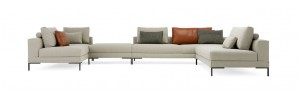 DESIGN ON STOCK AIKON LOUNGE BANK XL- HOEKOPSTELLING